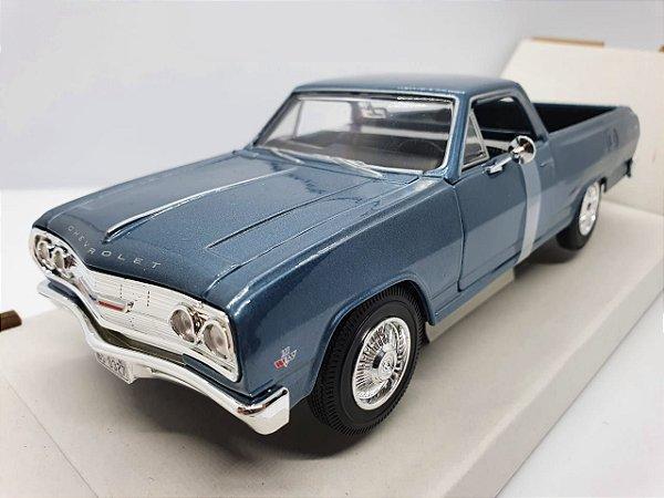 Miniatura Chevrolet El Camino1965 Azul - Escala 1/25 - Maisto Especial Edition