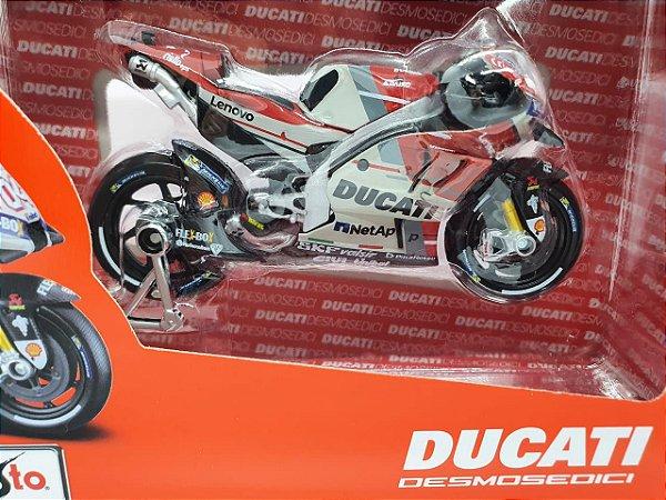 Miniatura Ducati Desmosedici GP18 - Andrea Dovizioso 04 - Ducati Corse - Moto GP 2018 - 1/18 - Maisto