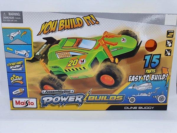 Maisto Assembly Line Power Builds - Oune Buggy - Verde