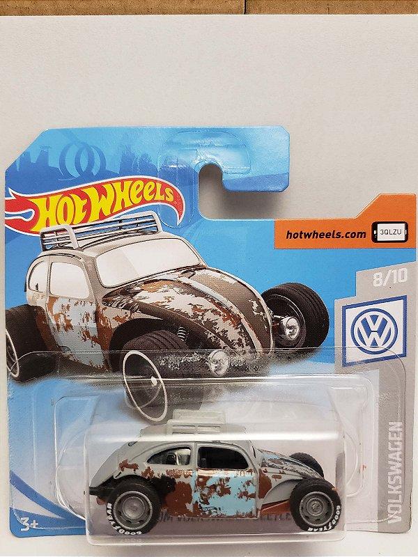 1:64 VW FUSCA CUSTOM CINZA