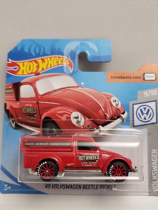 1:64 VW FUSCA PICK UP 1949 VERMELHO