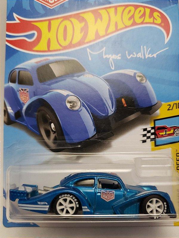 1:64 VW FUSCA KAFER RACER  AZUL