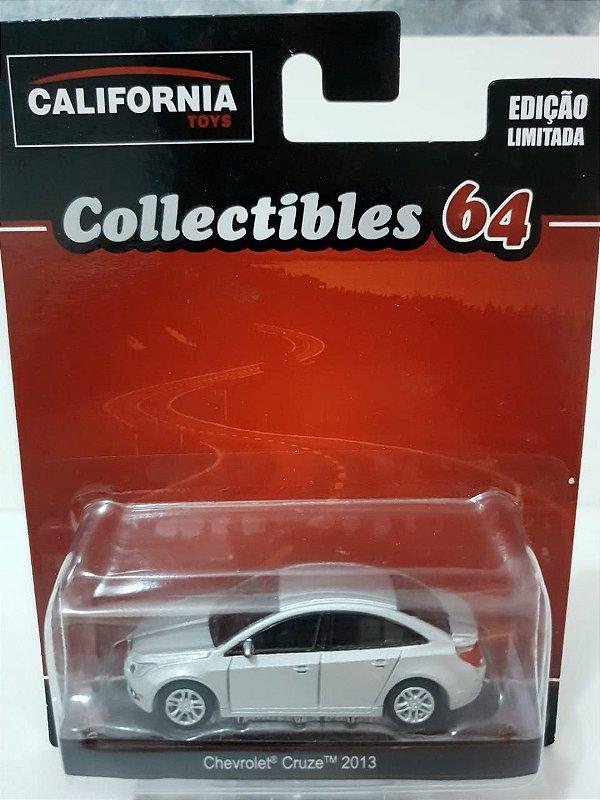 Miniatura Cruze 2013 Prata - Escala 1/64 - California