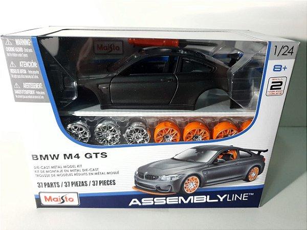 MINIATURA ESCALA 1/24 - KIT EM METAL PARA MONTAR BMW M4 GTS