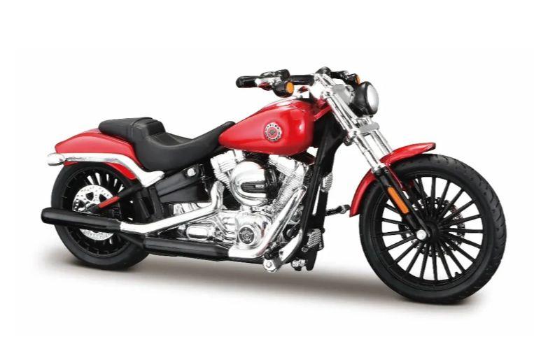 Miniatura Moto Harley Davidson Breakout 2016 - Escala 1/18 - Maisto
