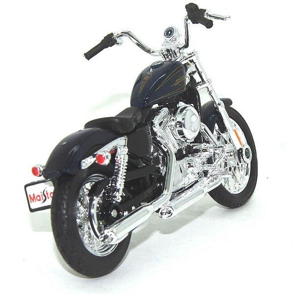 Miniatura Moto Harley Davidson Seventy Two XL1200V 2012 - Escala 1/18 - Maisto