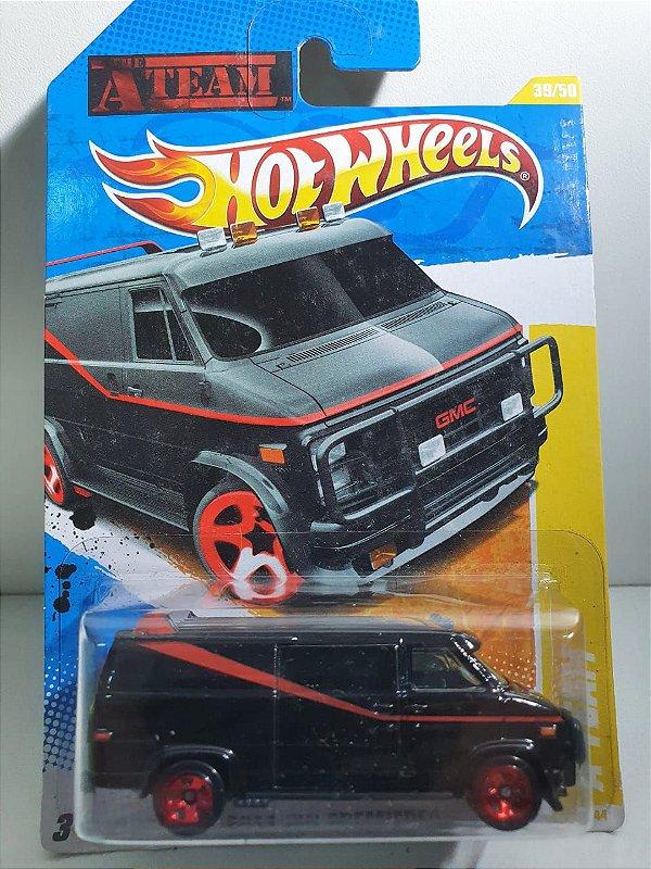 Miniatura Van Filme Esquadrão Classe A - Hot Wheels -