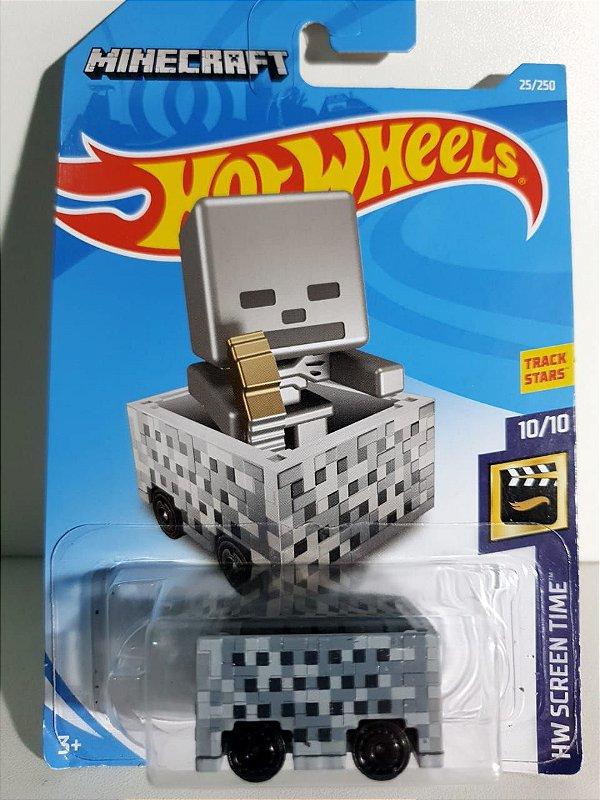 Miniatura Minecart - Minecraft - Hot Wheels - HW Screen Time
