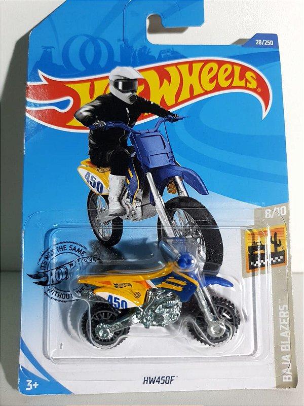 Miniatura Moto HW450F - Hot Wheels - Baja Blazers #8