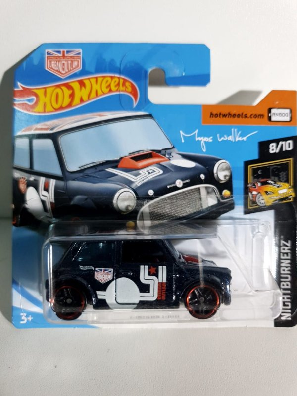 Miniatura Morris Mini - Hot Wheels - Nightburnerz #8