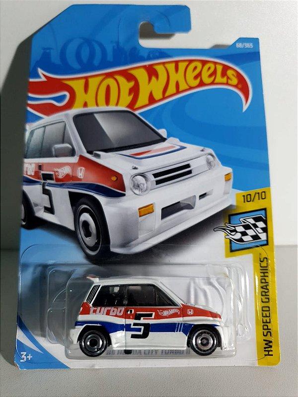 Miniatura Honda City Turbo II  85 - Hot Wheels - HW Speed Graphics #10
