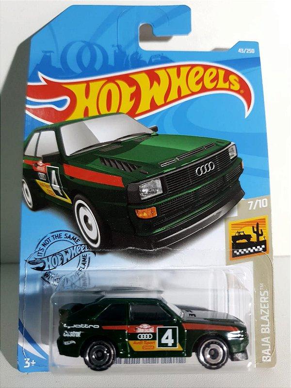 Miniatura Audi Sport Quattro 84  -  Hot Wheels - Baja Blazers #7