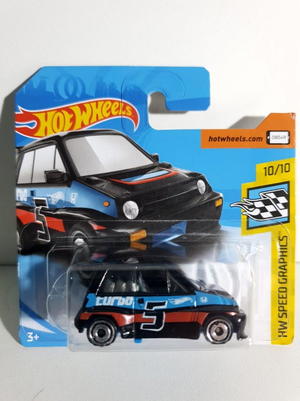 Miniatura Honda City Turbo II 85 - HW Speed Graphics #10