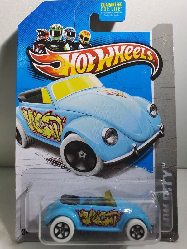 Miniatura Fusca - Hot Wheels - HW City #40