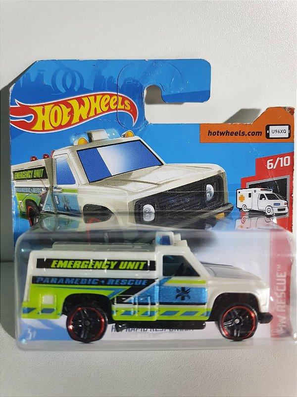 Miniatura HW Rapid Responder - Hot Wheels - HW Rescue #6