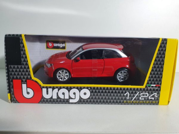 Miniatura Audi A1 - Escala 1/24 - Burago