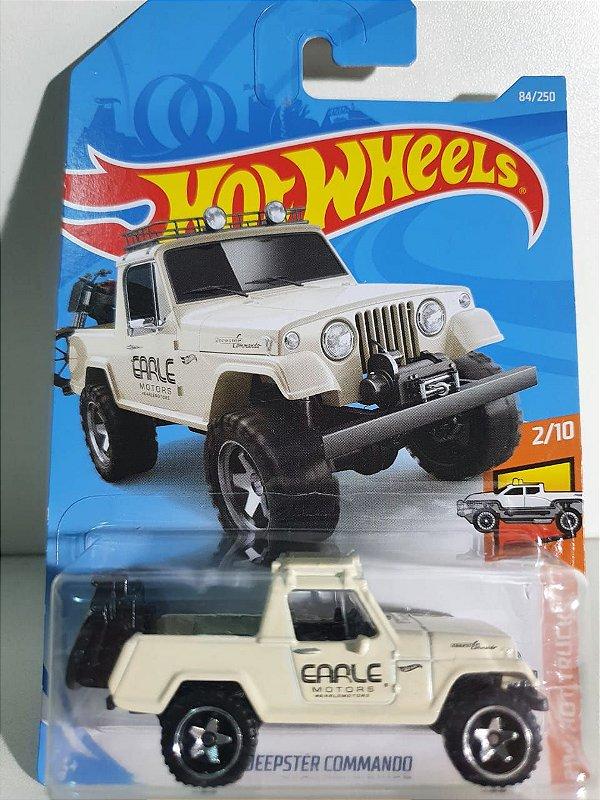 Miniatura Jeepster Commando - Hot Wheels - HW Hot Trucks