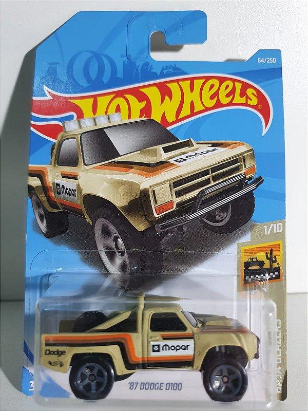 Miniatura Dodge D100 - Hot Wheels - Baja Blazers