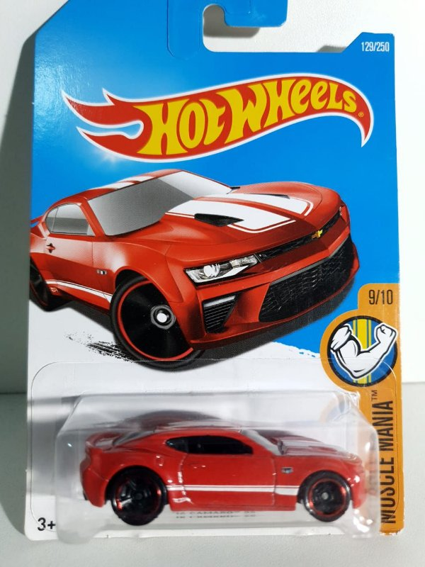 Miniatura Hot Wheels - Camaro SS - Muscle Mania