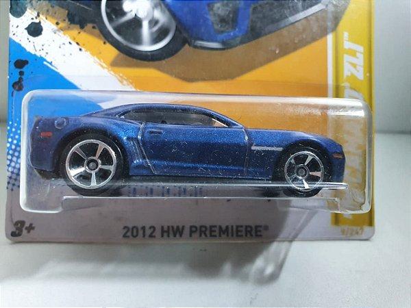 Miniatura Hot Wheels - Camaro ZL1 2012 - HW Premiere