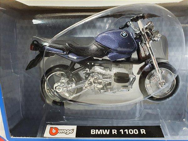 Miniatura Moto BMW R 1100 R - Escala 1/18 - Burago