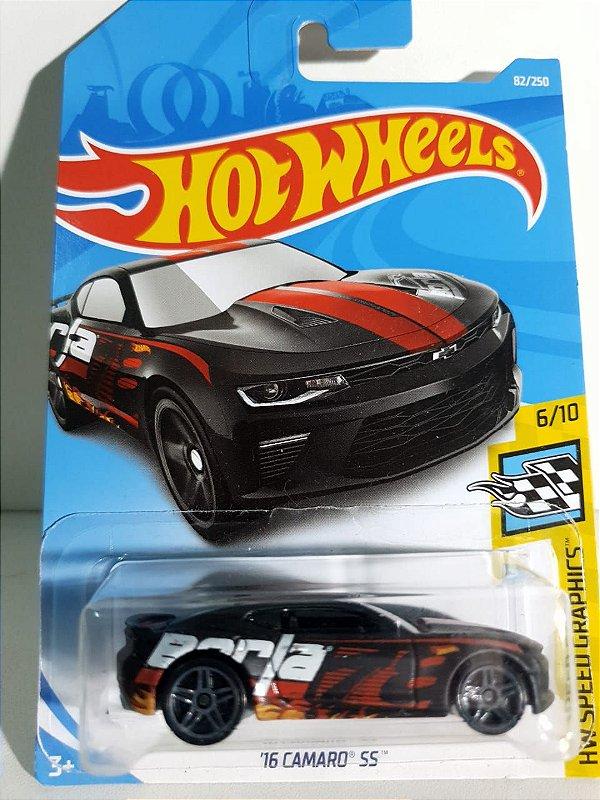 Miniatura Hot Wheels - Camaro SS 2016 - HW Speed Graphics