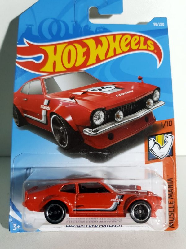 Miniatura Hot Wheels - Custom Ford Maverick - Muscle Mania
