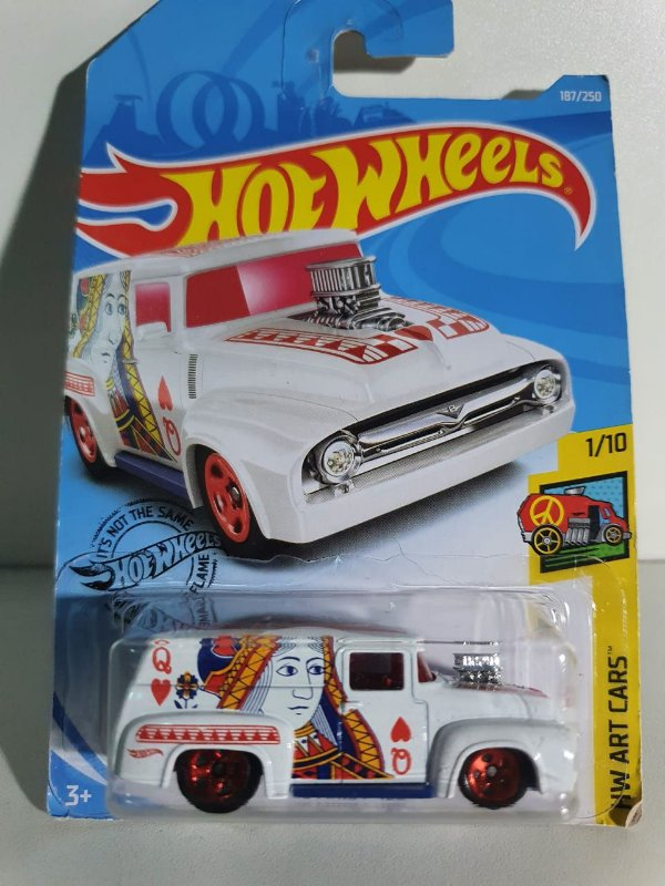 Miniatura Hot Wheels - Ford F100 1956 - HW Art Cars