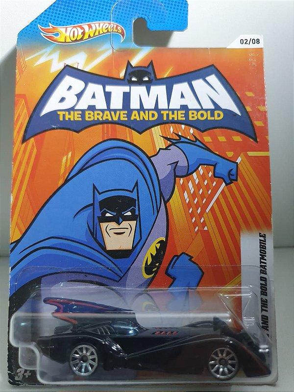 Miniatura Hot Wheels - Desenho Batman Bravos e Destemidos