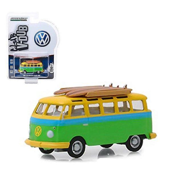 Miniatura Volkswagen Kombi 1964 Com Prancha - Escala 1/64 - Vee-Dub