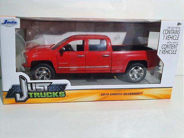 Miniatura Chevrolet Silverado 2014 - Escala 1/24 - Jada - 25cm