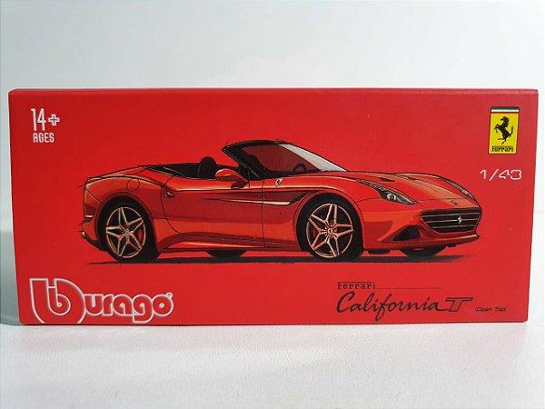 Miniatura Ferrari California T - Escala 1/43 Burago - Signature Series