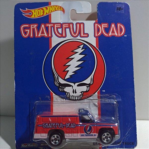 Miniatura Hot Wheels - Truck - Grateful Dead