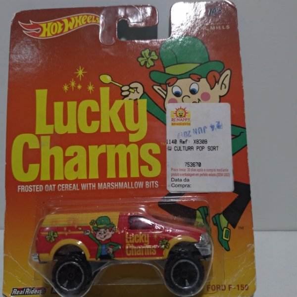 Miniatura Hot Wheels - Ford F150 - Lucky Charms
