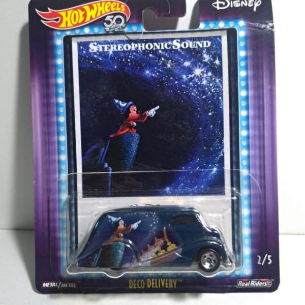 Miniatura Hot Wheels - Deco Delivery - Fantasia - Mickey Stereophonic Sound