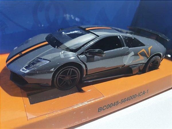 Miniatura Lamborghini Murcielago - Hot Wheels - Escala 1/32 C/ Luz e Som