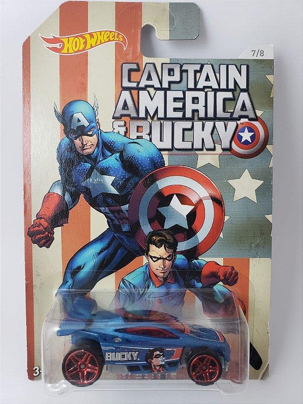Miniatura Hot Wheels - Capitão America e Bucky - Spectyte