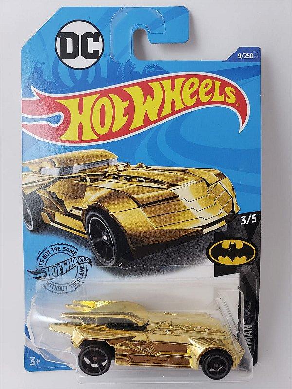 Miniatura Hot Wheels - Batman Batmovel Dourado