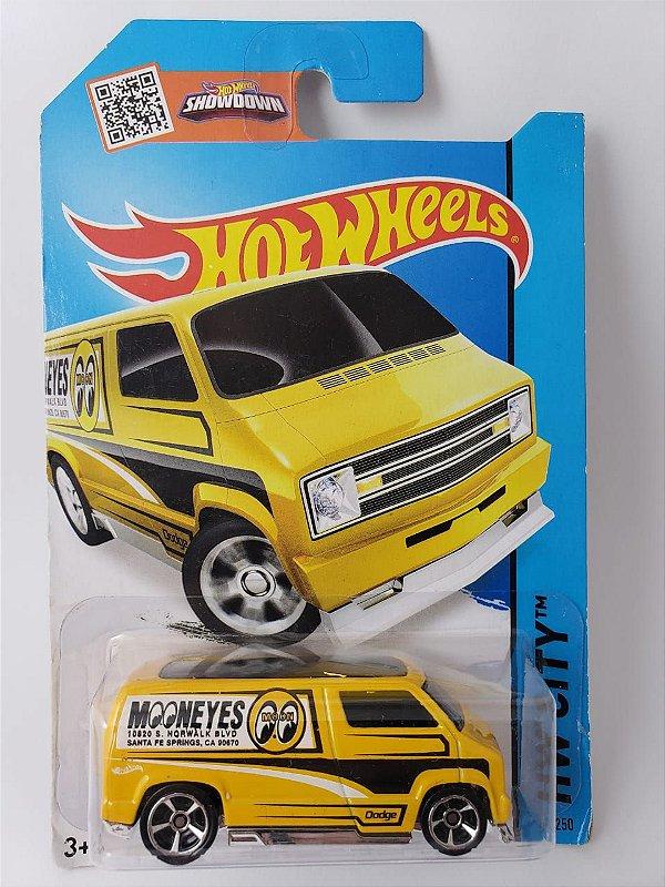 Miniatura Hot Wheels - Dodge Van 1977 Custom HW City