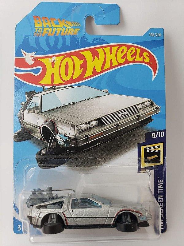 Miniatura Hot Wheels - Delorean De Volta Para o Futuro Hovermode - HW Screen Time