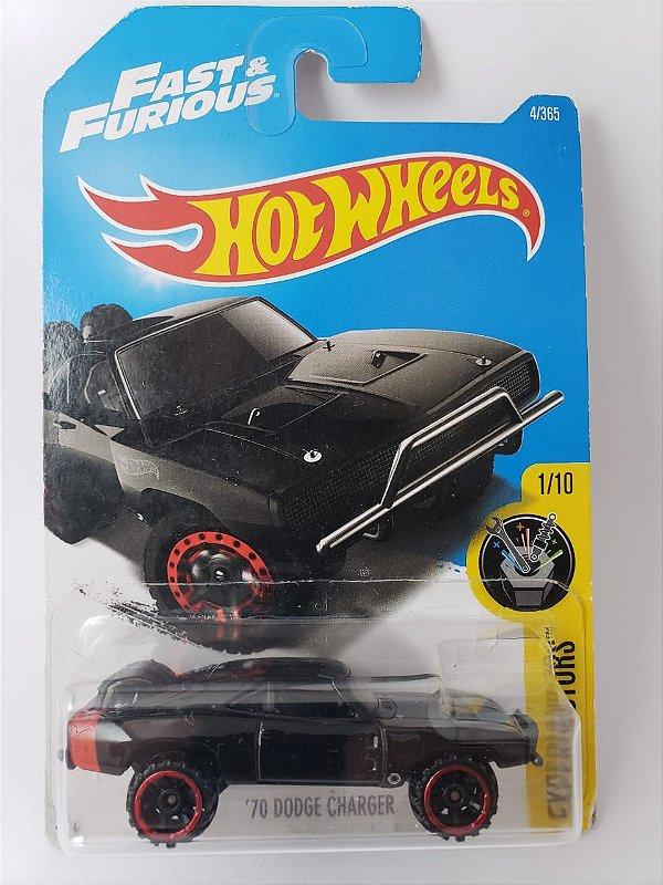 Miniatura Hot Wheels - Dodge Charger 1970 Velozes e Furiosos