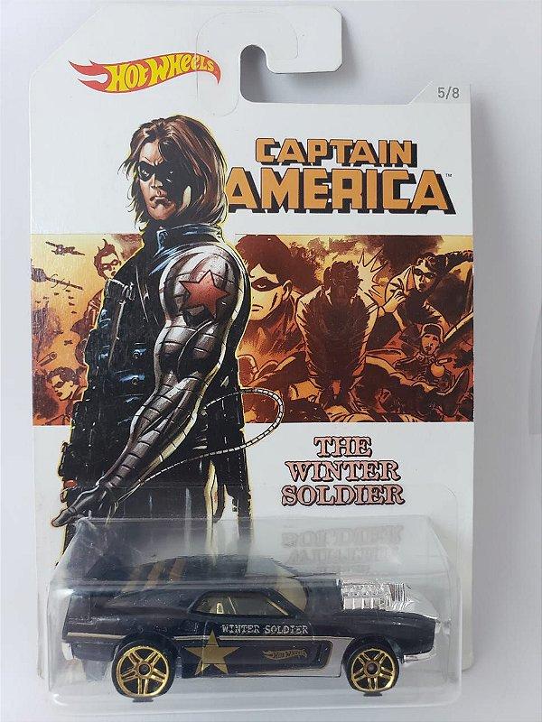 Miniatura Hot Wheels - Rivited - Capitao America