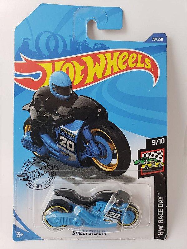 Miniatura Hot Wheels - Moto Street Stealth - HW Race Day