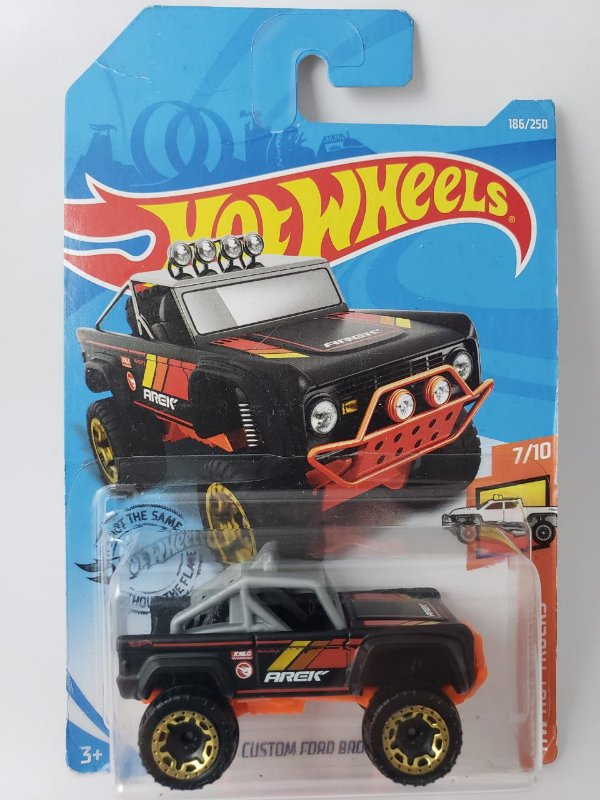 Miniatura Hot Wheels - Custom Ford Bronco - T-Hunted - Treasure Hunt