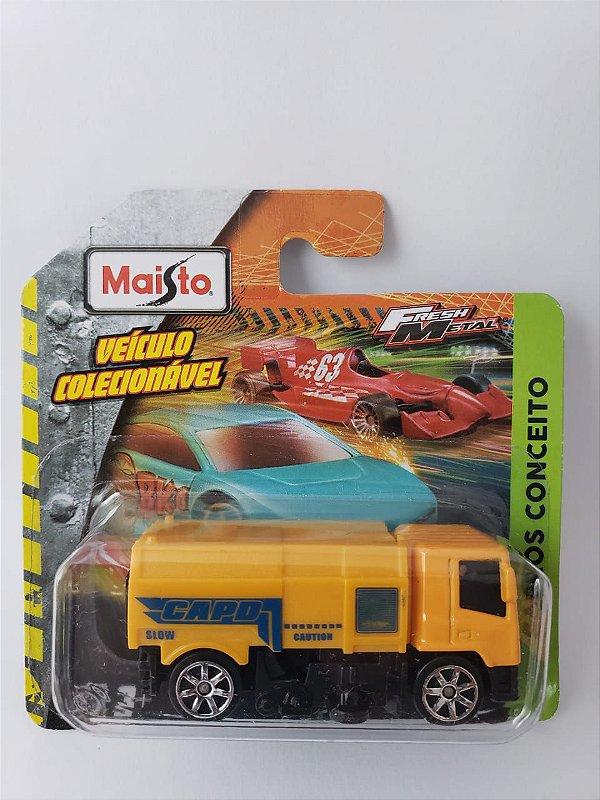 Miniatura Maisto - Caminhão Amarelo - Carros Conceito