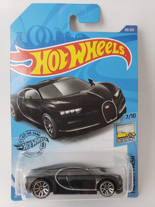 Miniatura Hot Wheels - Bugatti Chiron - Factory Fresh