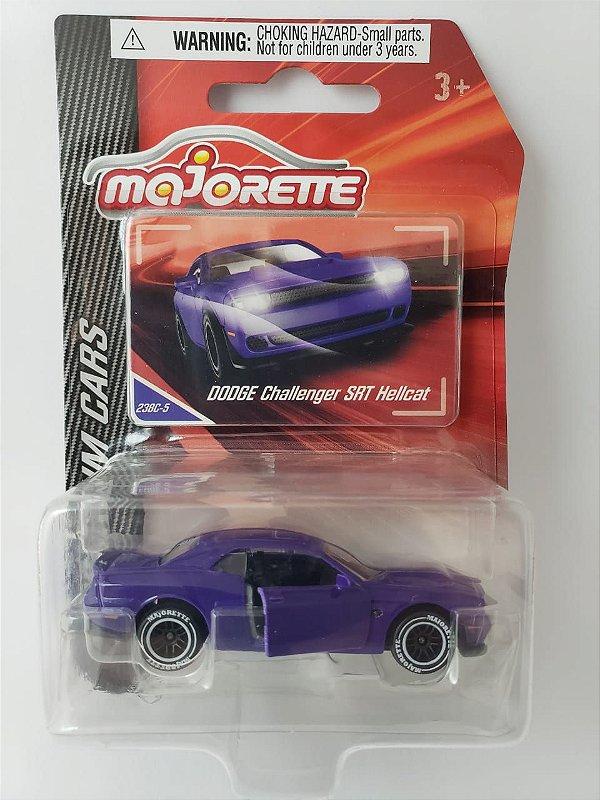 Miniatura Majorette Dodge Challenger SRT Hellcat - Escala 1/64 - Aprox. 8cm