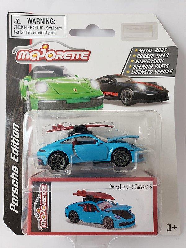 Miniatura Majorette - Porsche 911 Carrera S - Escala 1/64 Aprox 8cm