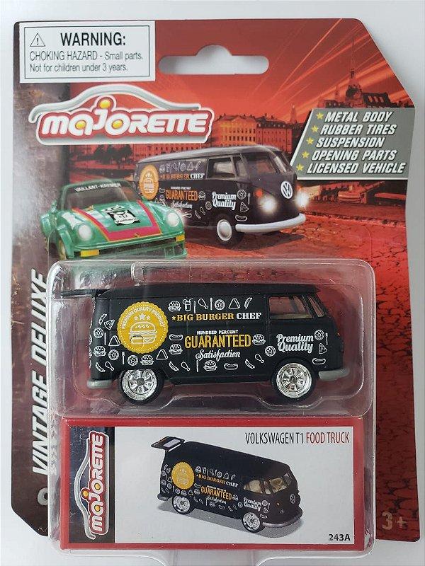 Miniatura Majorette - Kombi Food Truck - Vintage Deluxe Escala 1/64