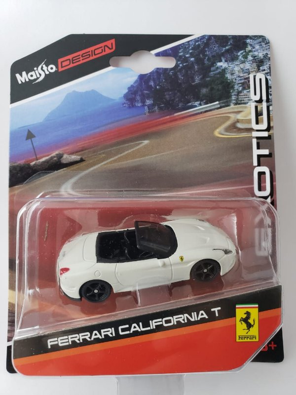 Miniatura Maisto Design - Ferrari California T - Escala 1/64 Aprox 8cm
